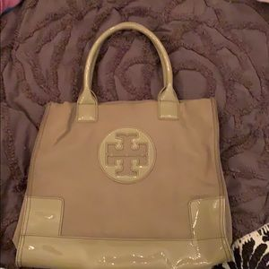 Tory Burch Nude Mini Ella Tote